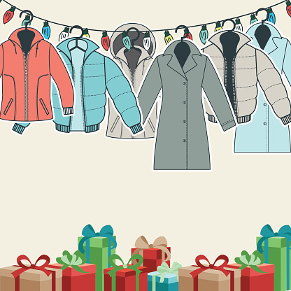 Online Christmas Shopping Concept