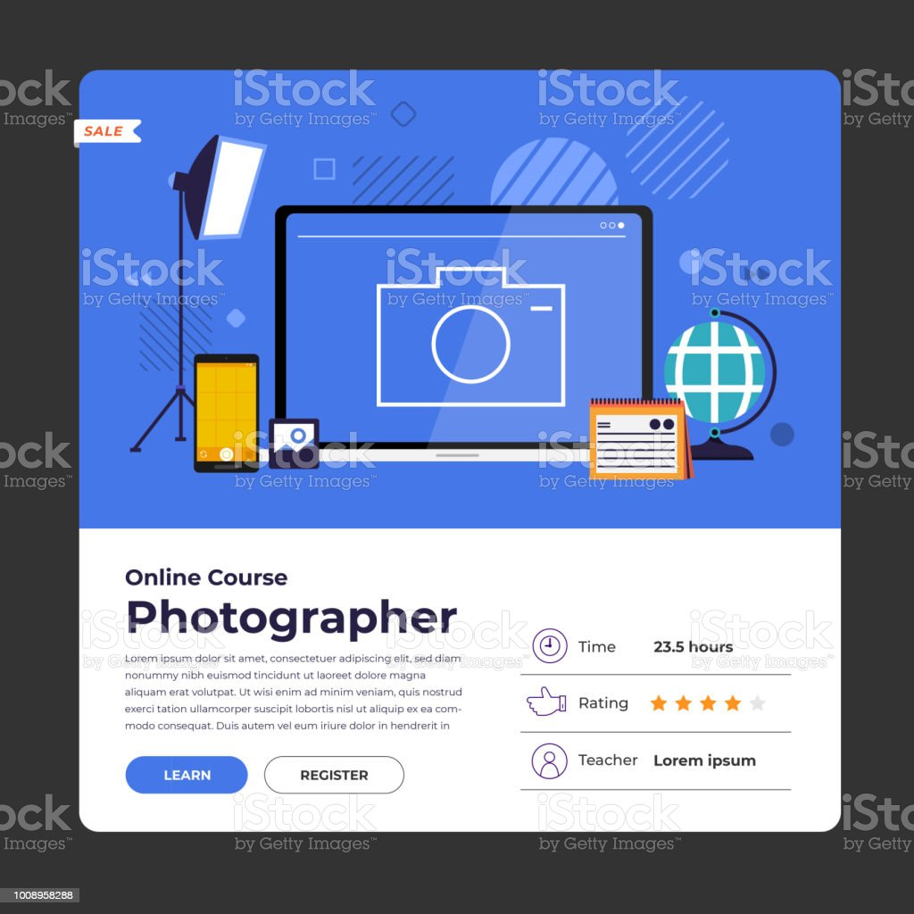 Online Course Education Stock Illustration - Download Image Now - iStock