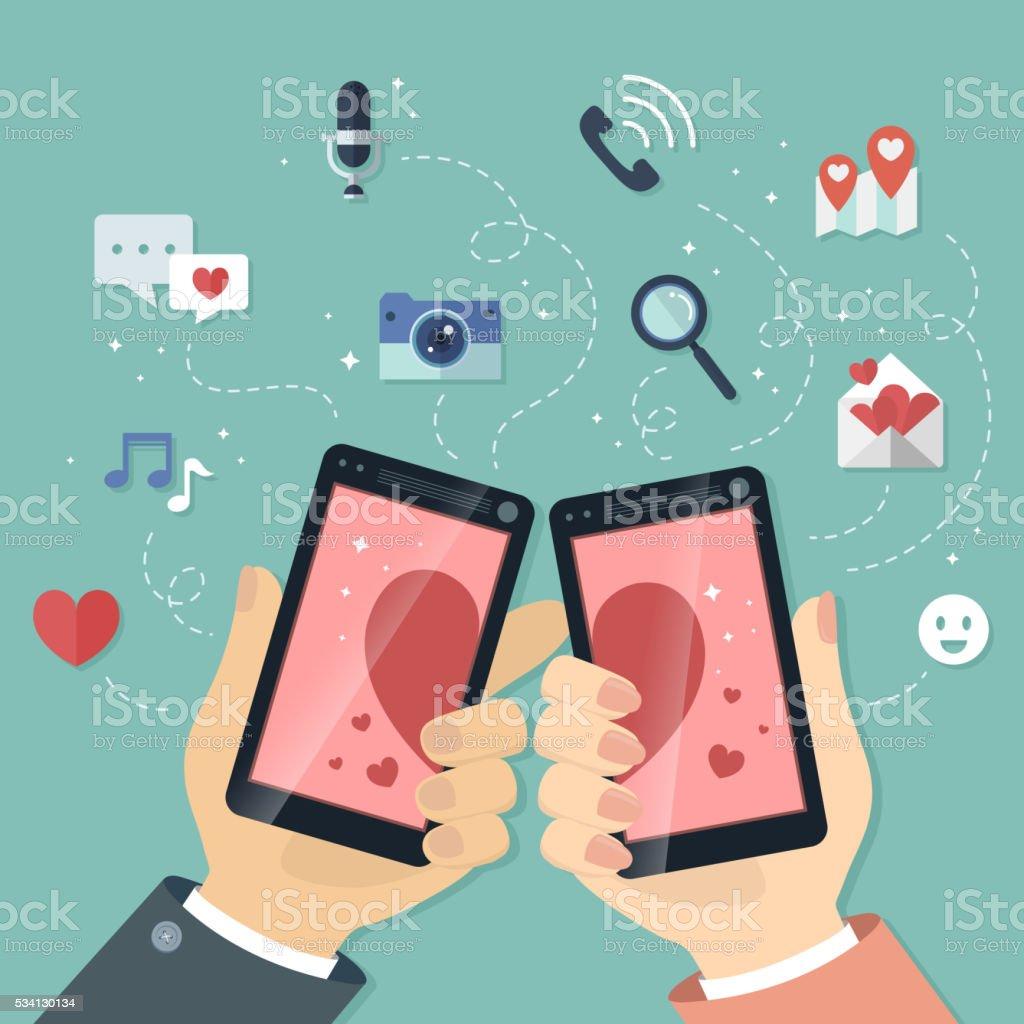 Technologie und Online-Dating