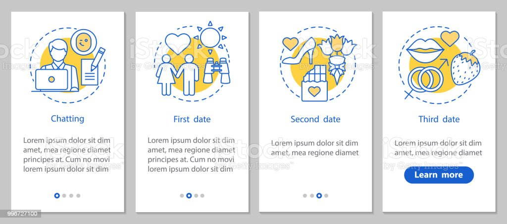 online dating site icons