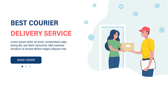 online delivery at home