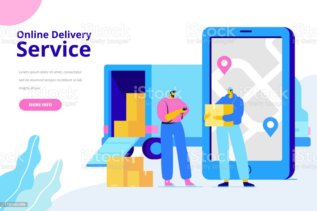 Flat illustration concept for digital marketing and business...
