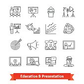 Online education and Academic presentation