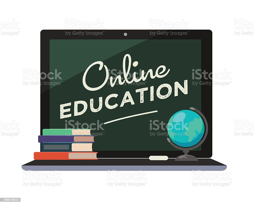 Online education icon. royalty-free online education icon stock vector art & more images of advice