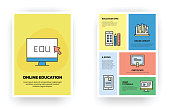 Online Education Related Infographic
