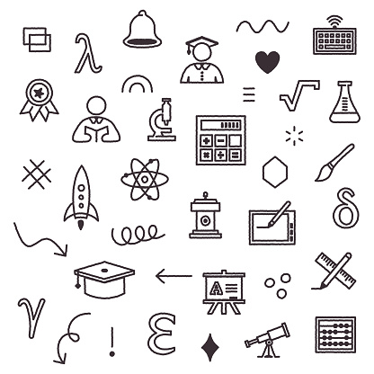 Online Education System Seamless Pattern Design
