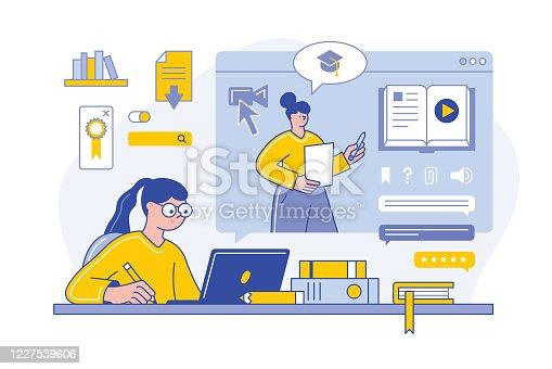 istock Online education 1227539606