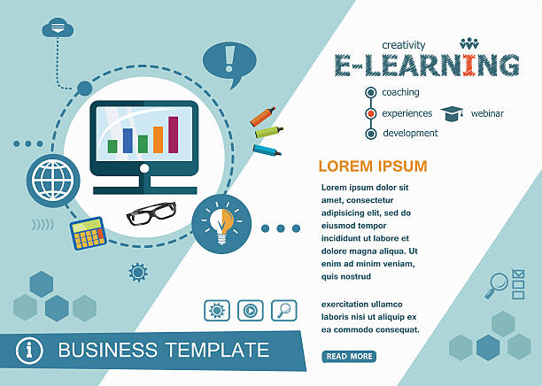 online elearning design concepts of words learning and training