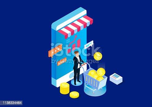 Online financial management service