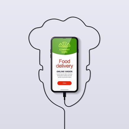 Online food ordering. Mobile app.