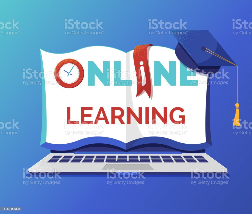 Online Learning And Education Banner Flat Vector Template Stock Illustration Download Image Now Istock