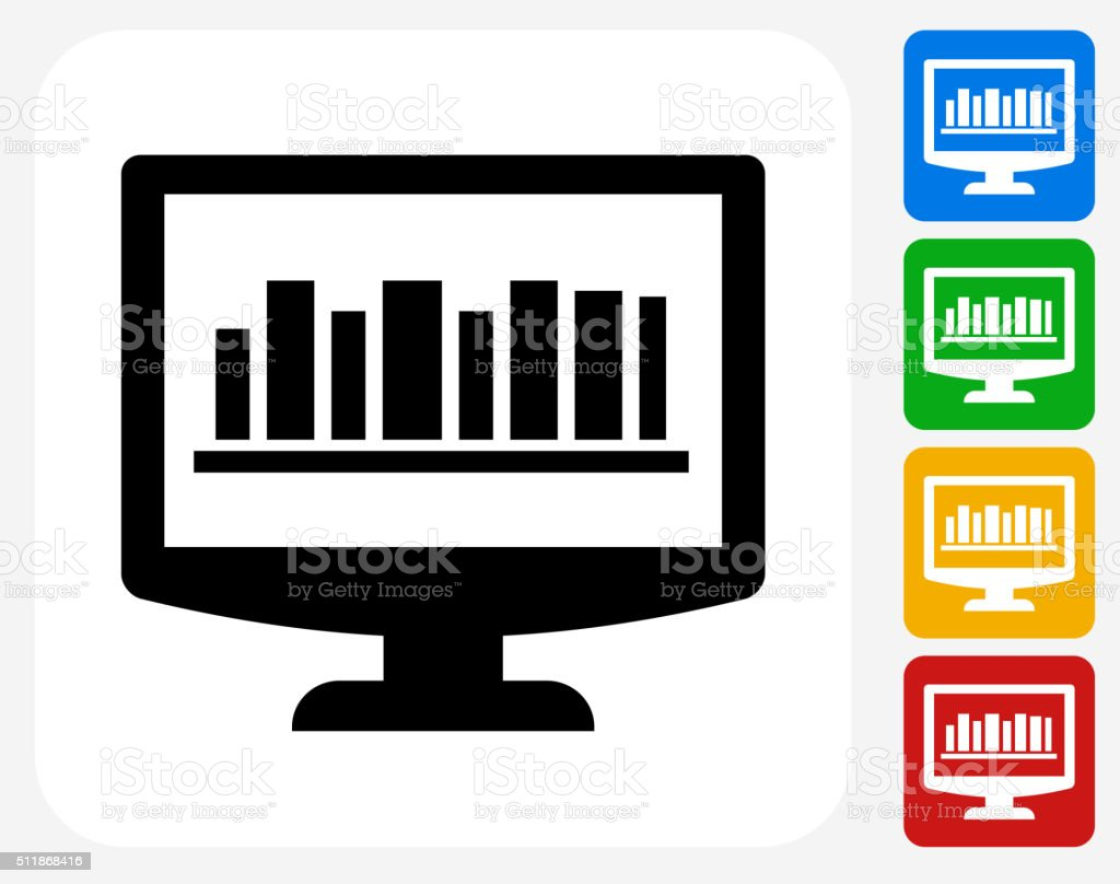Online Library Icon Flat Graphic Design Stock Illustration