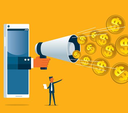 Online Money - smartphone