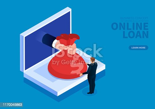 Online online loans and mortgages, online rewards and allowances