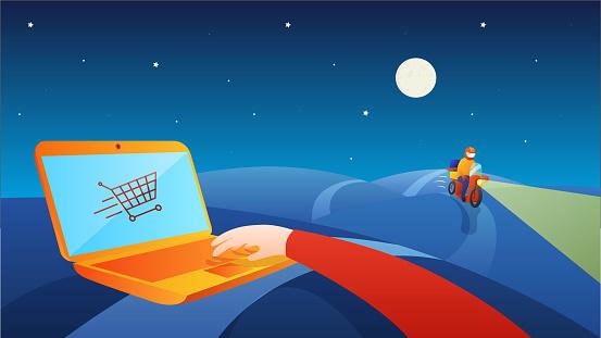 Online shop Logistics