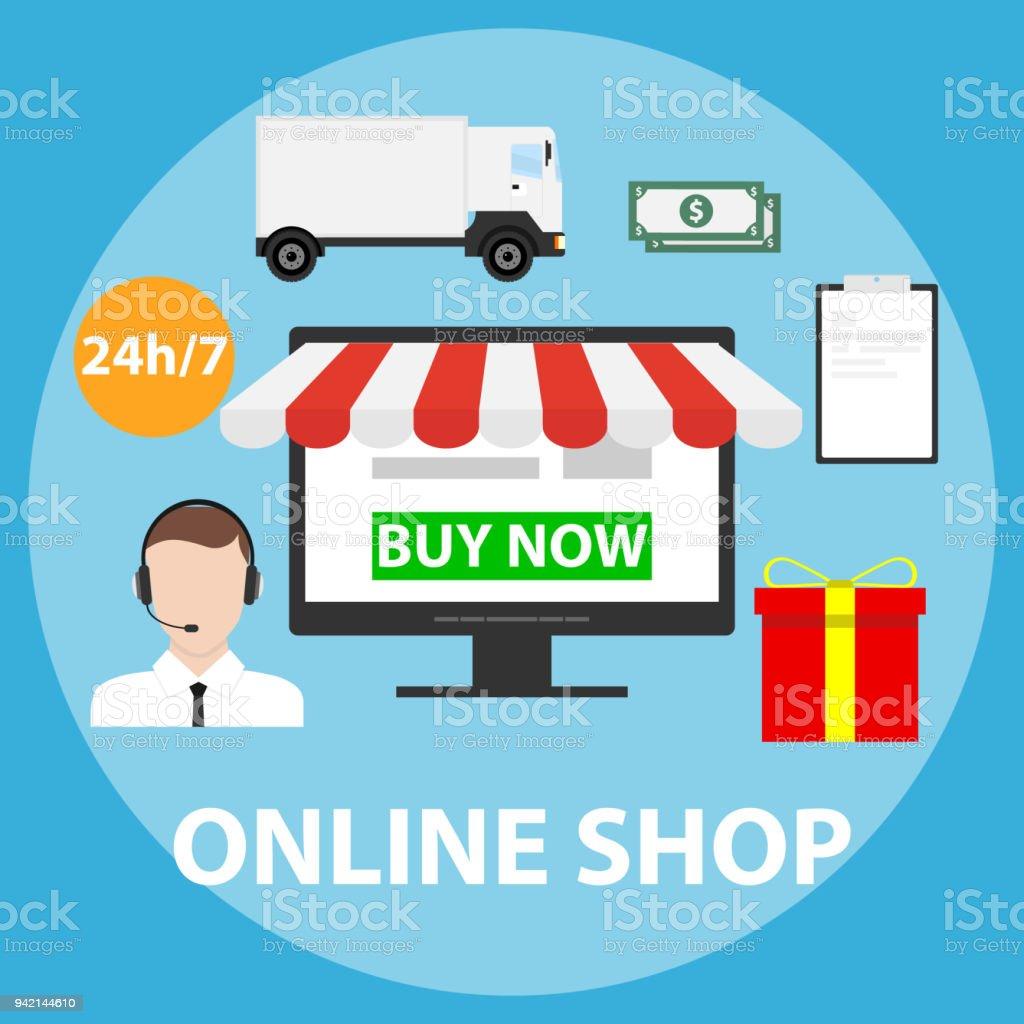 400cca1c8d5fd2 Onlineshop Ein Einkauf Im Onlineshop Machen Die Ware Online Zu ...
