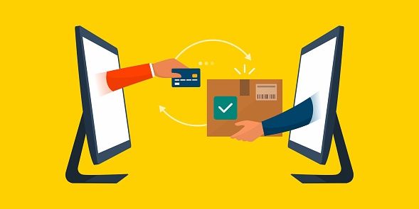Online shopping and express delivery