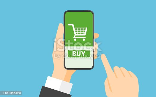 istock Online shopping concept 1131955420