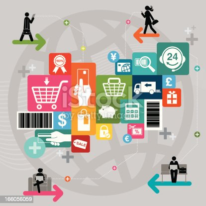 istock Online Shopping 166056059