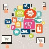 istock Online Shopping 183069682