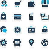 Online Store Icons - Azure Series
