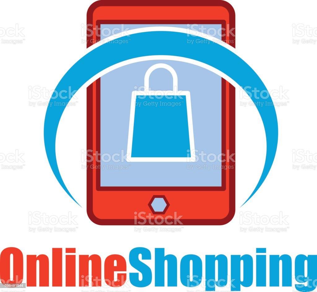 online store / online shopping icon for your business online. vector illustration vector art illustration
