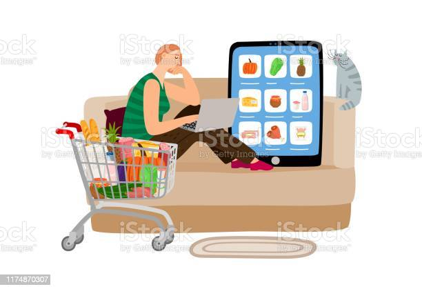 Online supermarket concept vector id1174870307?b=1&k=6&m=1174870307&s=612x612&h=udpt1ndsiohapplagbpgajb1c13wt8uktbbh52qrjxq=
