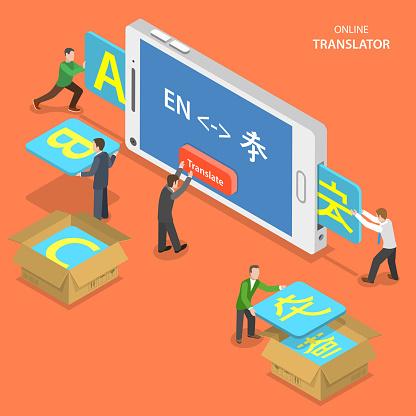 Translator stock illustrations