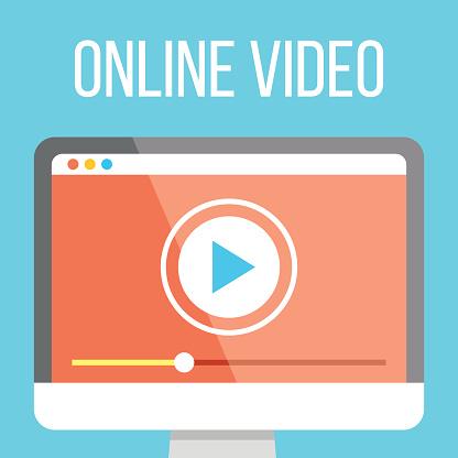 De Vidéos En Ligne À Illustration Vecteurs libres de droits et plus d'images vectorielles de 2015