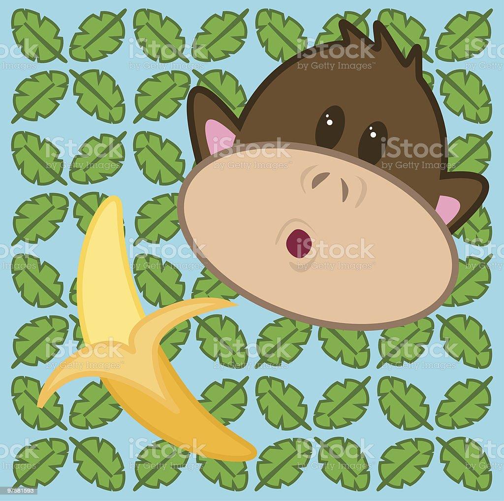 Oh la banane oh la banane – cliparts vectoriels et plus d'images de aliment libre de droits