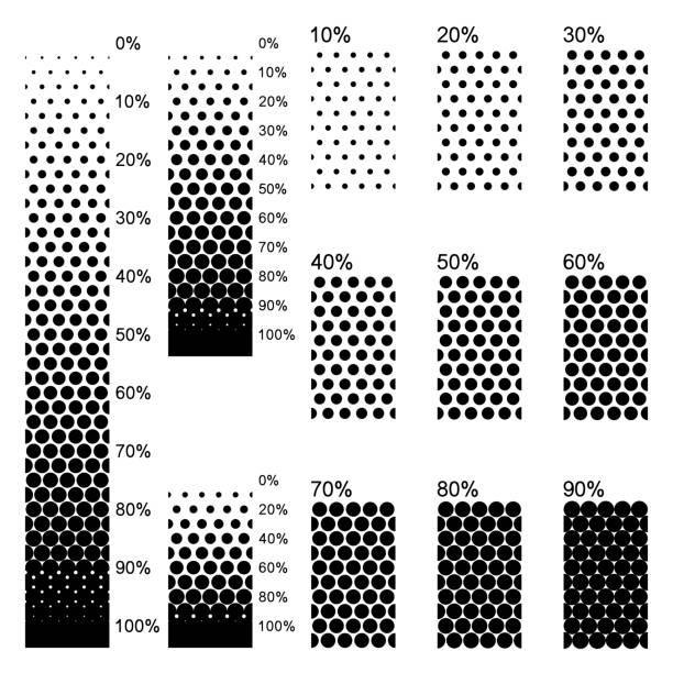 ilustraciones, imágenes clip art, dibujos animados e iconos de stock de gradientes lineales opacos en el arreglo más denso perfectamente - sólido