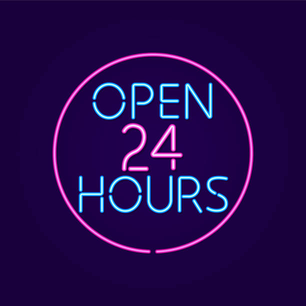 446 Open 24 Hours Neon Sign Stock Photos, Pictures & Royalty-Free Images -  iStock
