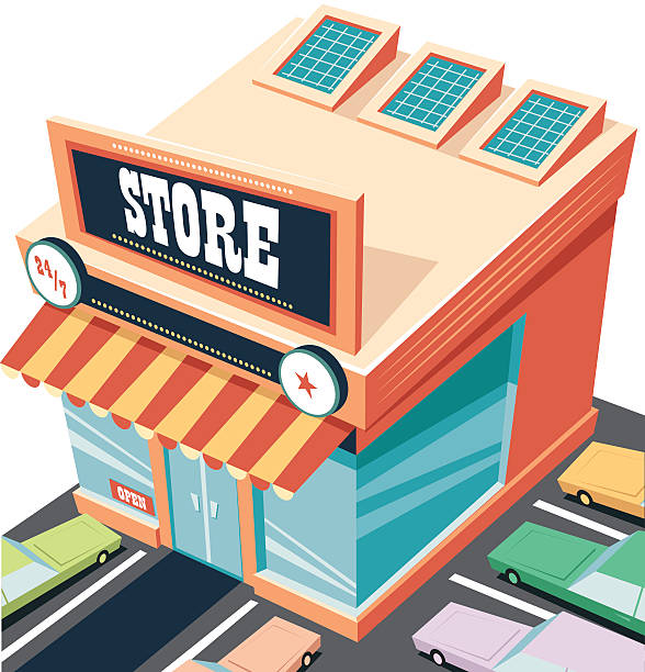 Best Department Store Illustrations, Royalty-Free Vector ...