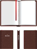 Open and closed book