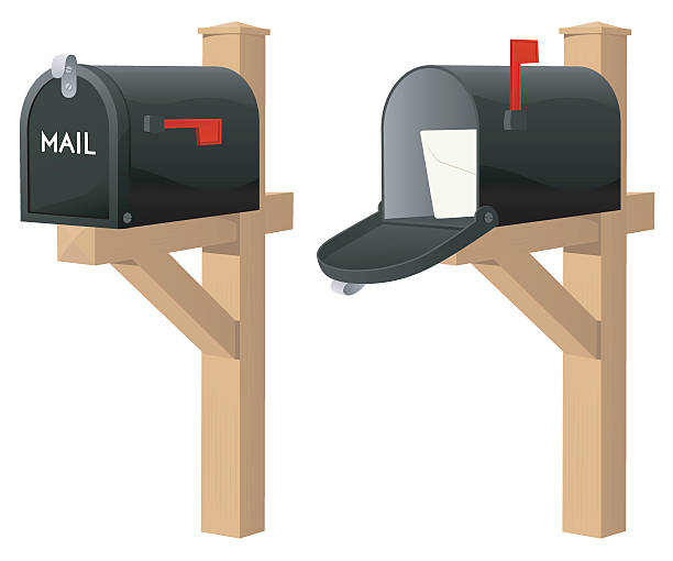 Best Mailbox Illustrations, Royalty-Free Vector Graphics ...