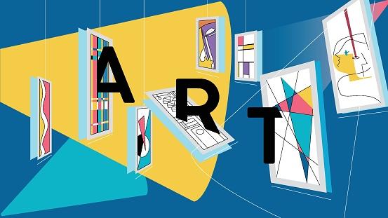 Open Art Gallery Event Concept