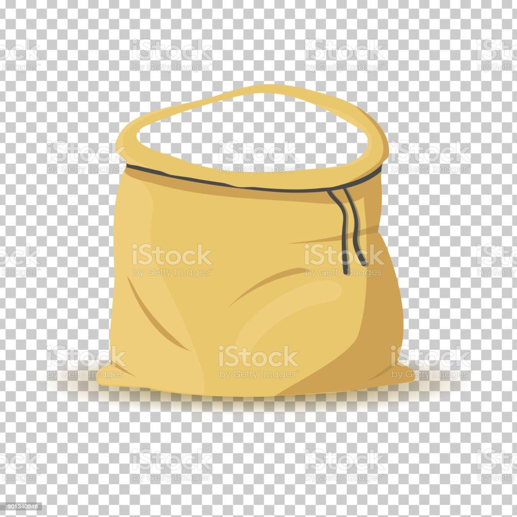 Open bag stencil