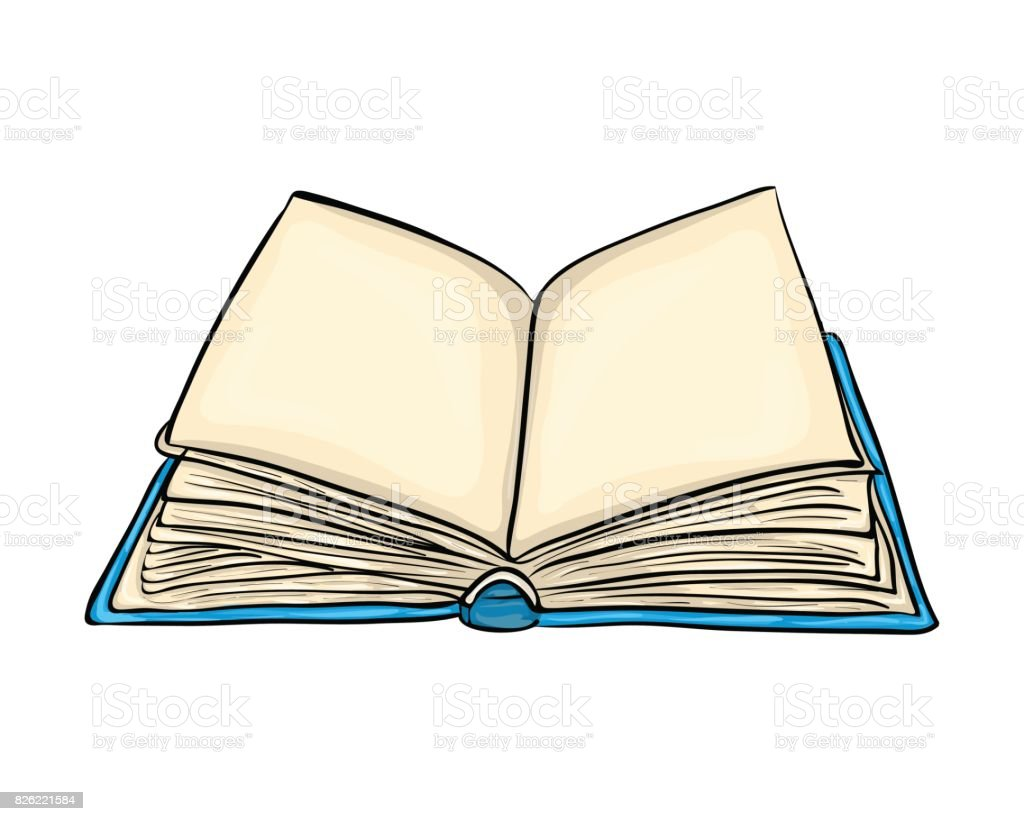 open book cartoon vector symbol icon design. Beautiful illustration isolated on white background vector art illustration
