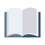 open book Flat Vector Icons
