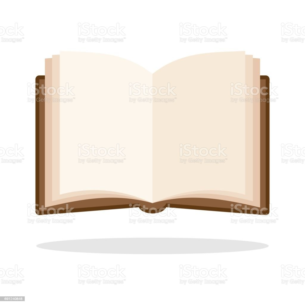 royalty free silhouette of a open book outline clip art vector rh istockphoto com clipart open book outline