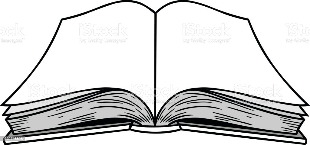 royalty free blank open book cartoons clip art vector images rh istockphoto com clipart open book magic clipart open book magic