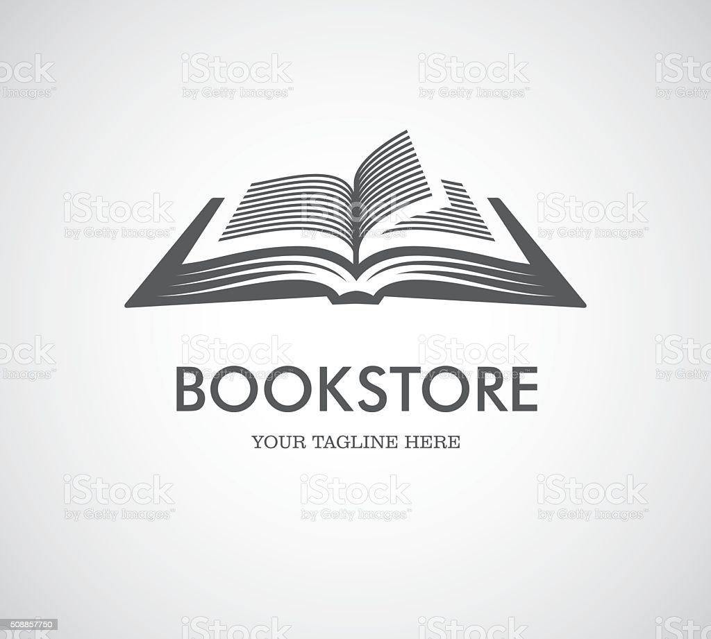 Livre Ouvert Avec Logo Vecteurs Libres De Droits Et Plus D
