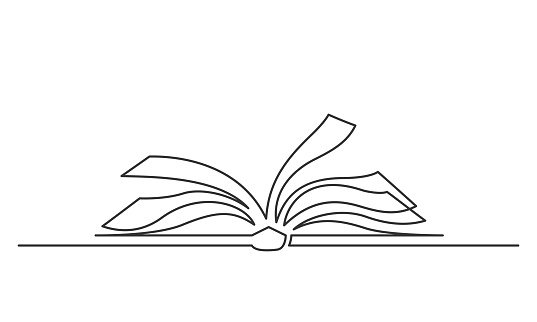 open book one line