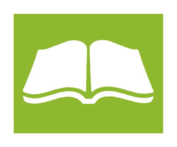 ilustraciones, imágenes clip art, dibujos animados e iconos de stock de libro abierto  - open book