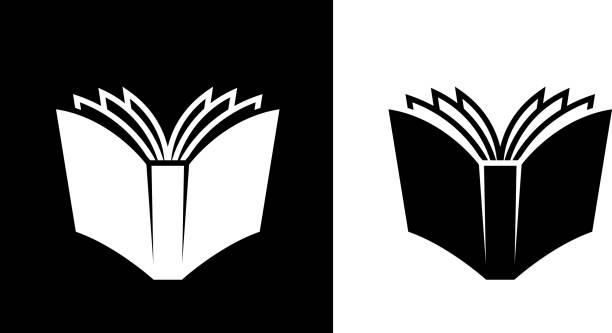 otwórz książkę. - open book stock illustrations