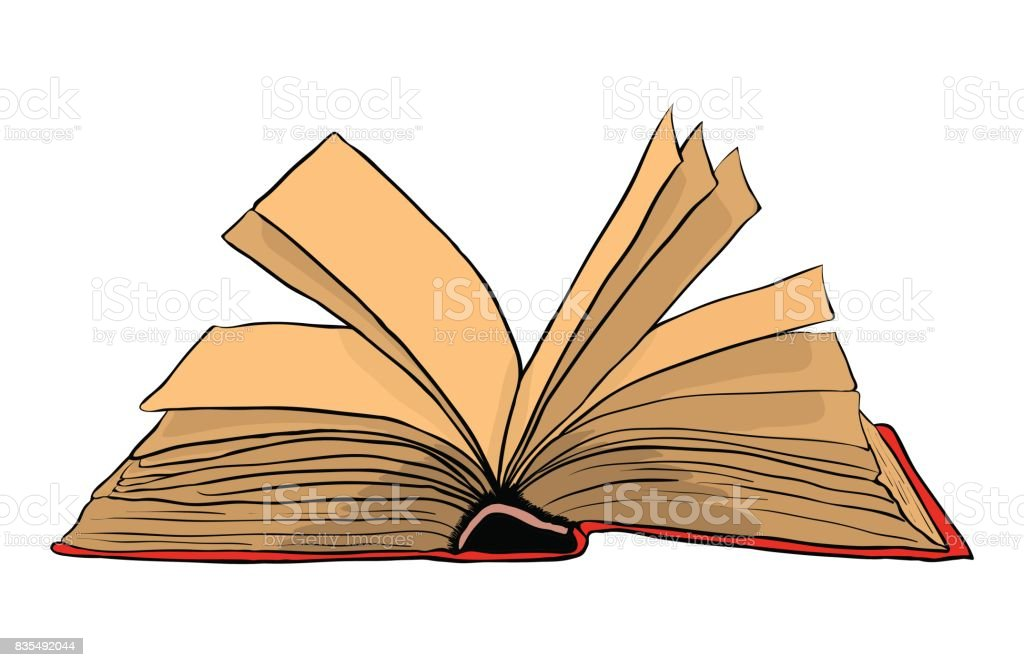 open book vector symbol icon design. Beautiful illustration isolated on white background vector art illustration