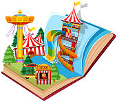 Open book water park theme