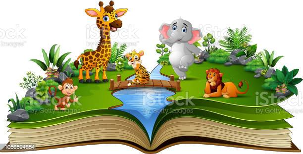 Open book with the animal cartoon playing in the river vector id1056594854?b=1&k=6&m=1056594854&s=612x612&h=f bc3zzxjicyerzmijkkbrt03fgvsohwjpsc6qmratm=