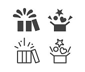Open Box - Illustration Icons