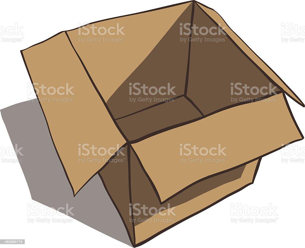 Best Empty Box Illustrations  Royalty